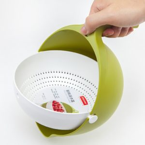 2-in-1 Multifunction Kitchen Strainer and Bowl - HahaGet